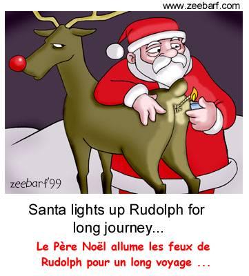 Pere Noel Humour Dessin Nails